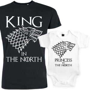 Coffret game of throne, the king of the north, cadeau papa, fille