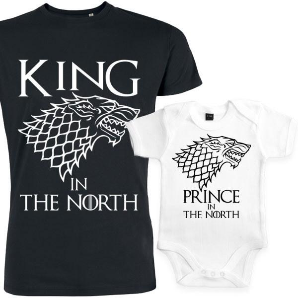 Coffret game of throne, the king of the north, cadeau papa