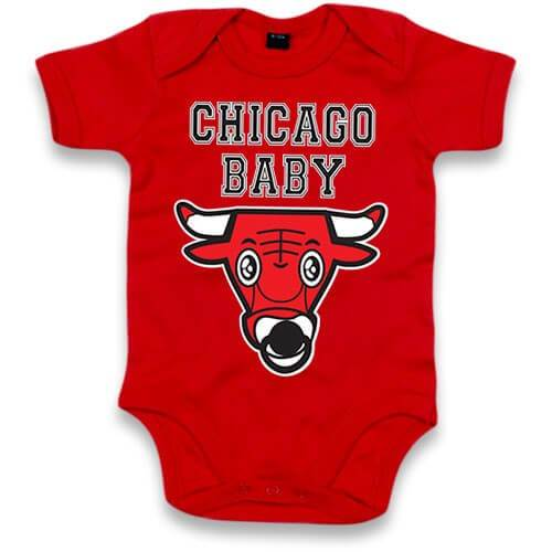 Body Original Bébé Mixte Chicago Baby - PETIT DEMON