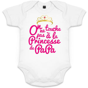 Body-Bebe-Original-on-ne-touche-pas-a-la-princesse-de-papa-petit-demon