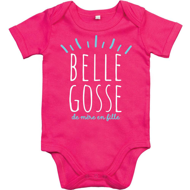 Body Bébé Original ROSE belle gosse de mère en fille