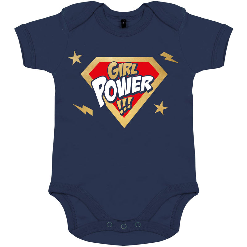 body bebe original pour fille super hero girl power