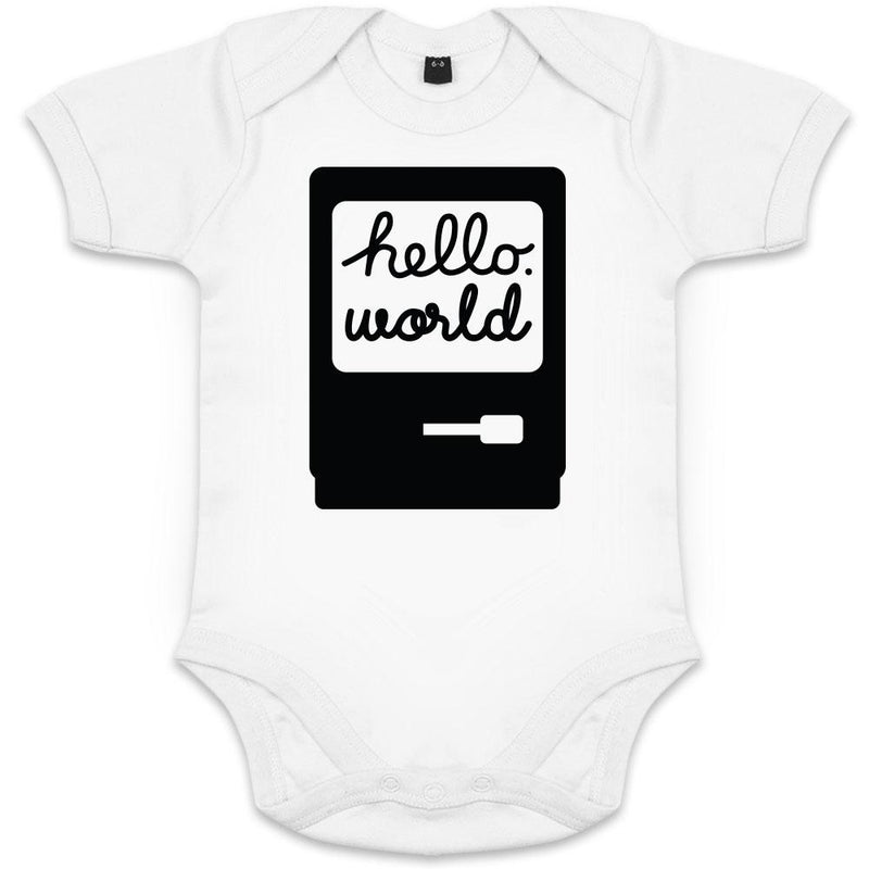 body bebe original geek hello world