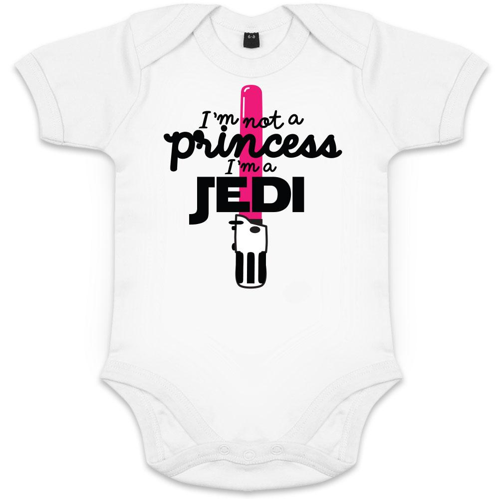 Body Bébé Fille, Star Wars, i'm not a princess, I'm a JEDI