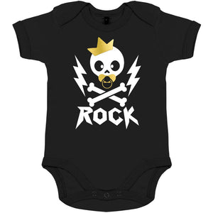 body bebe original rock noir tete de mort