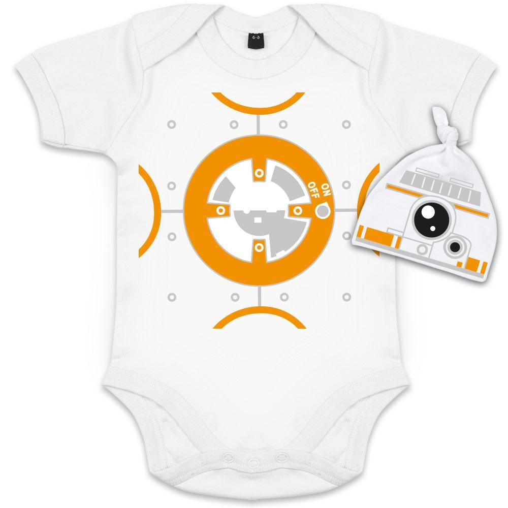 body bebe rigolo bb8 starwars