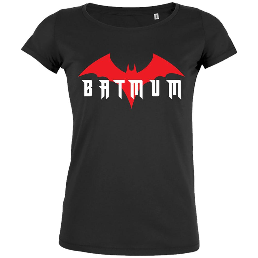 t shirt super maman batman humour