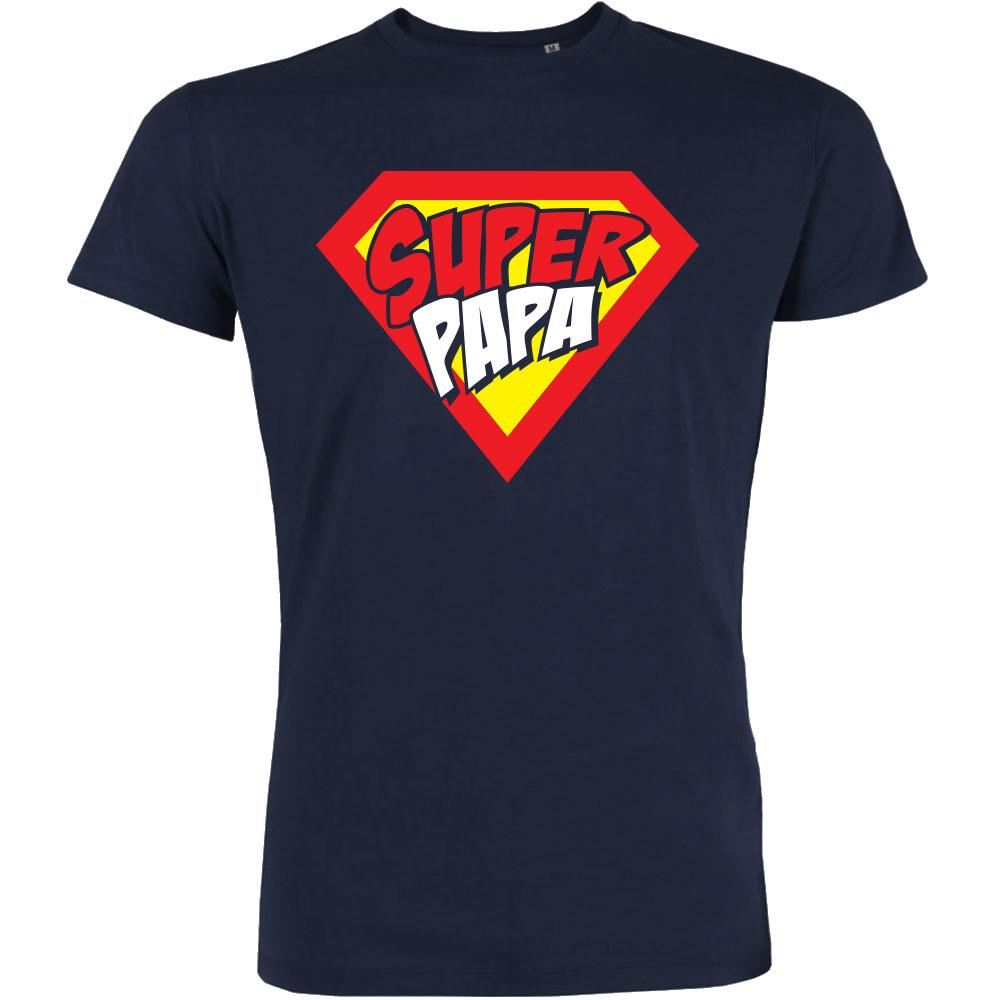 T SHIRT SUPER PAPA PETIT DEMON