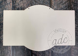 Marquee Shaped Sublimation Hardboard Blank