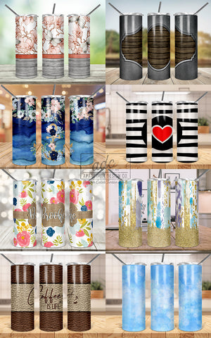 ADC Designer's Tumbler Collab Sublimation Design Bundle