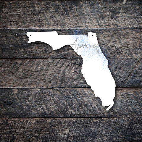 State of Florida Sublimation Hardboard Blank