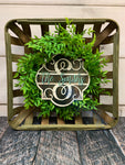 Farmhouse Tobacco Basket and Wreath Sublimation Kit
