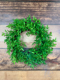 "14"" Green Wreath"
