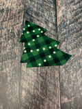 Christmas Tree Truck Attachment Sublimation Door Hanger Hardboard Blank