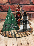 Christmas Tree Centerpiece Hardboard Sublimation Blank