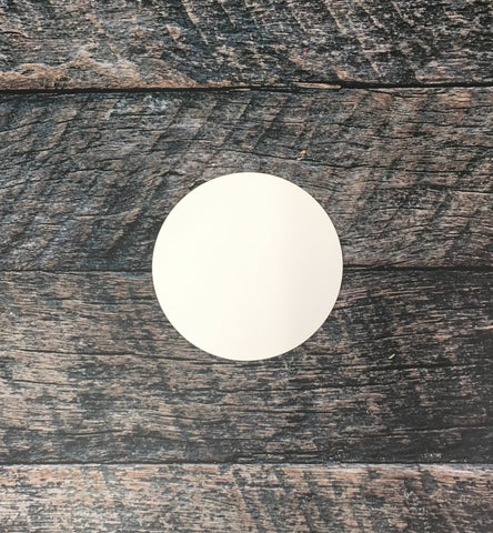 "5"" Round Sublimation Hardboard Blank"