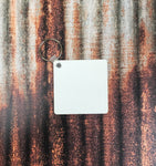 Square Keychain Sublimation Blanks