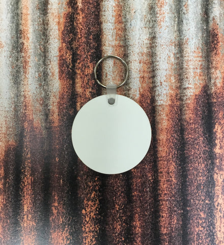 Round Keychain Sublimation Blanks