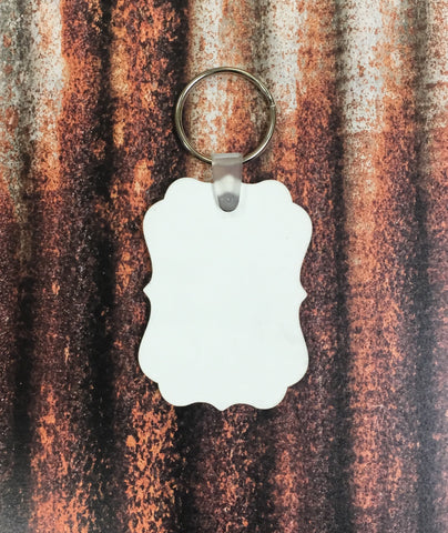 Aluxe Keychain Sublimation Blanks