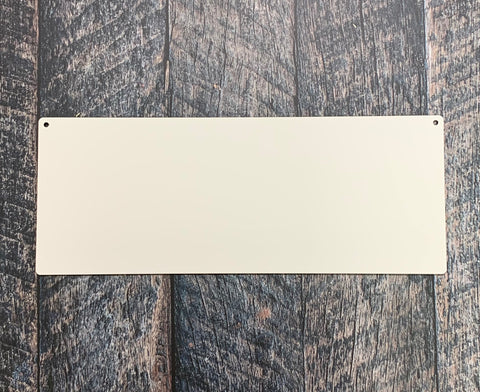 "15.5x6"" Sublimation Hardboard Blank"