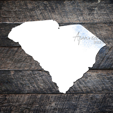 State of South Carolina Sublimation Hardboard Blank