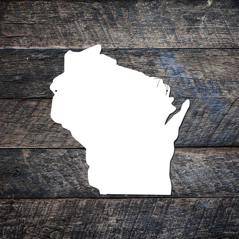 State of Wisconsin Sublimation Hardboard Blank