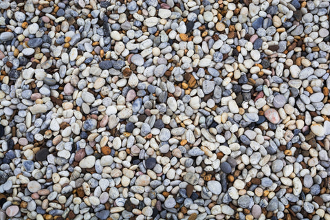 How much gravel is needed for gravel grids