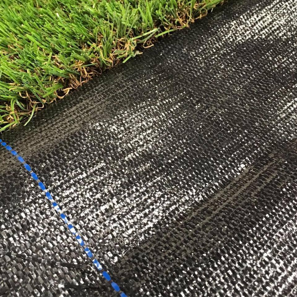 Weed control fabric is a barrier membrane for low maintenance garden.