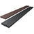 IBRADECK is a 100% recycled plastic decking board in brown or black