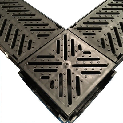 LIBCORNER Drain Channel Corner Unit/Sump