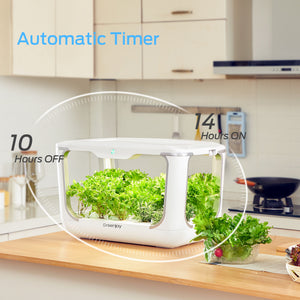 Greenjoy Indoor Herb Garden Starter Kit, Hydroponics Growing System