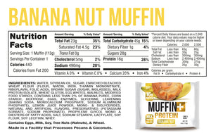 Muffin+ Protein Mix & Match - Up to 4 Flavors - Cookie+ Protein