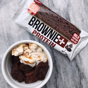 Brownie+ Double Chocolate - Cookie+ Protein