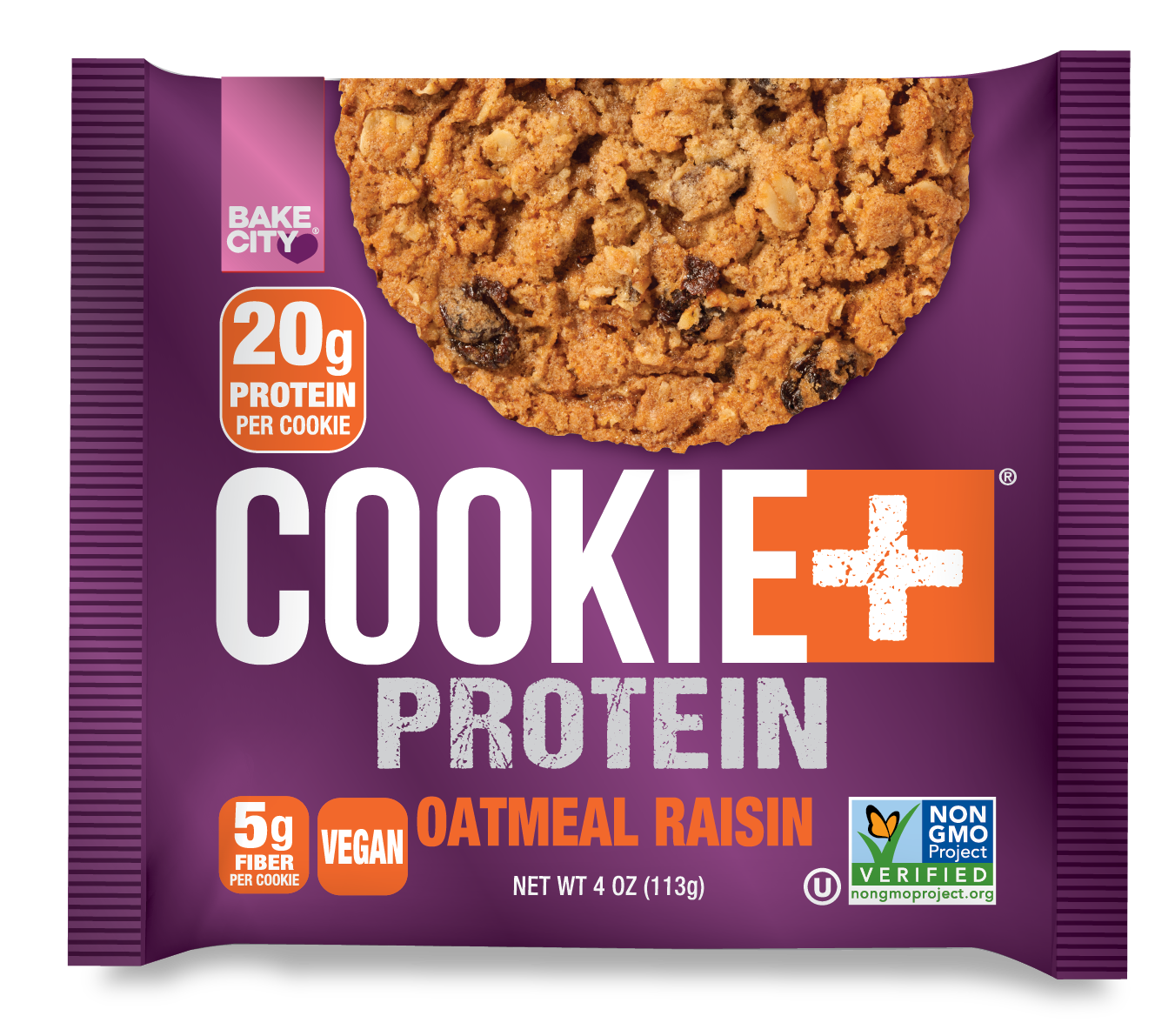 Cookie+ Protein Oatmeal Raisin - Cookie+ Protein