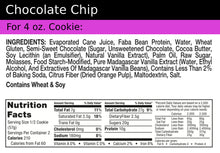 Load image into Gallery viewer, Cookie+ Protein Chocolate Chip - Cookie+ Protein
