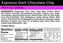 Load image into Gallery viewer, Cookie+ Protein Espresso Dark Chocolate