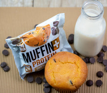 Load image into Gallery viewer, Muffin+ Protein Chocolate Chip - Cookie+ Protein