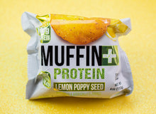 Load image into Gallery viewer, Muffin+ Protein Lemon Poppy Seeds - Cookie+ Protein