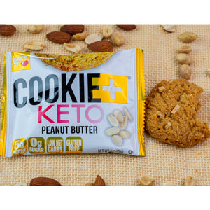 Cookie+ Keto Peanut Butter - Cookie+ Protein