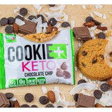 Load image into Gallery viewer, Cookie+ Keto Chocolate Chip - Cookie+ Protein