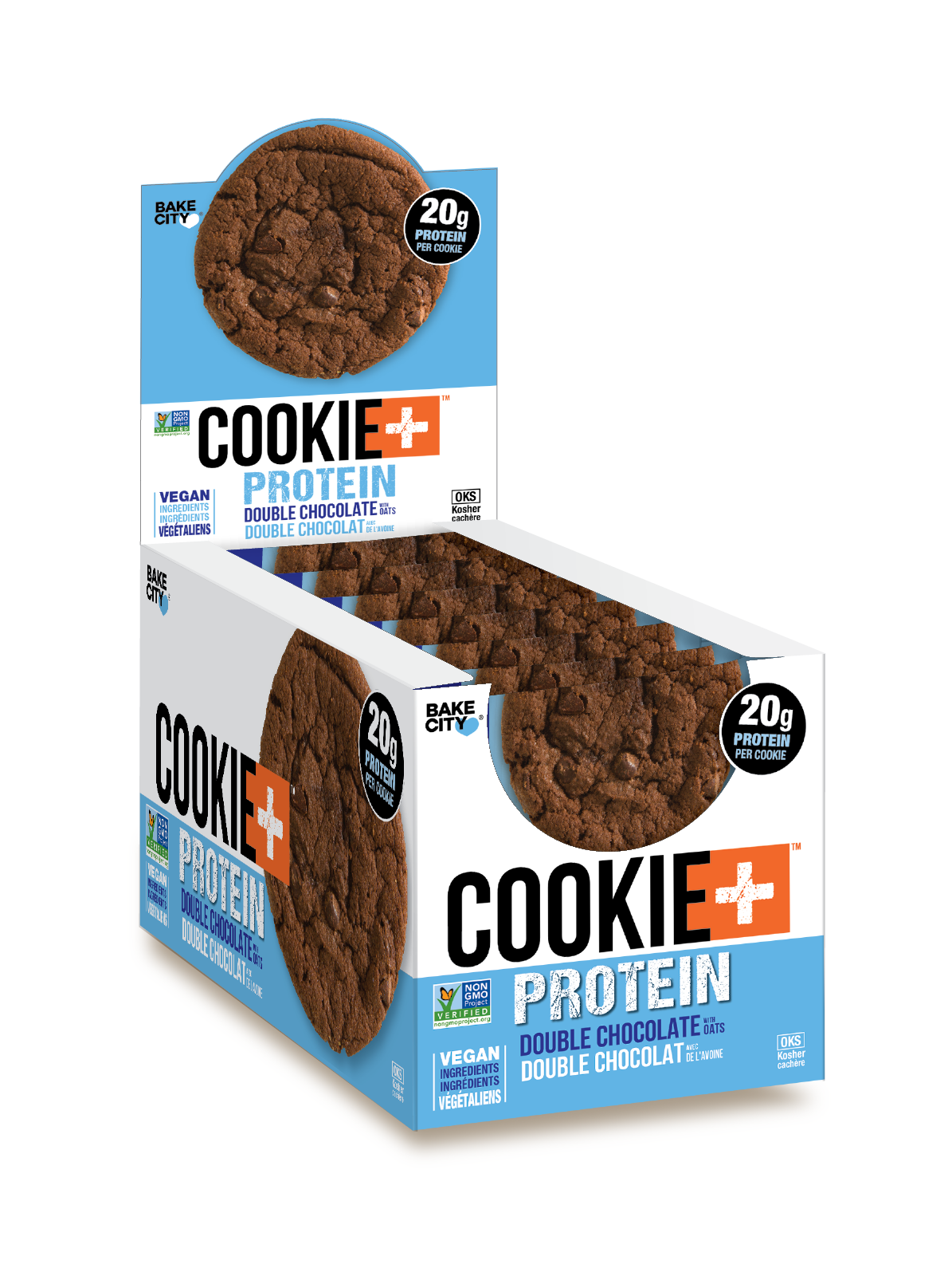 Cookie+ Protein Double Chocolate - Cookie+ Protein