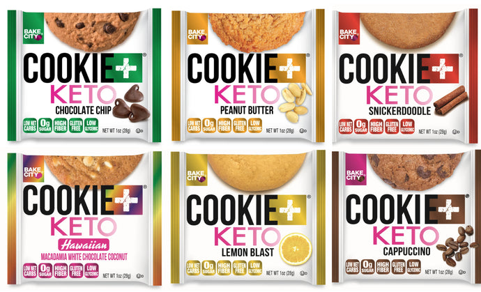 Cookie+ Keto Mix & Match Case - Up to 6 Flavors - Cookie+ Protein