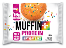 Load image into Gallery viewer, Muffin+ Protein Birthday Cake - Cookie+ Protein