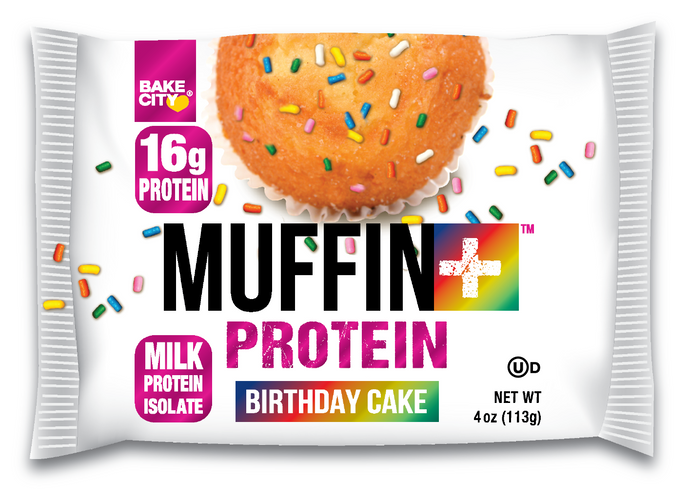 Muffin+ Birthday Cake - Cookie+ Protein