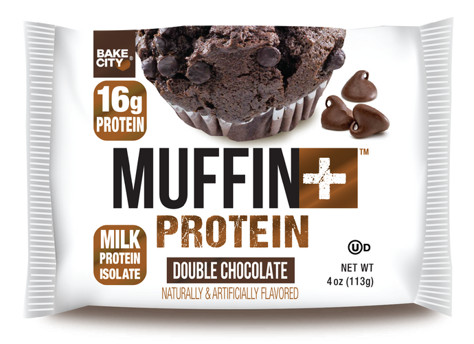 Muffin+ Protein Double Chocolate - Cookie+ Protein