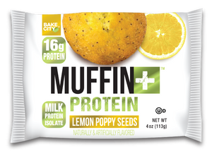 Muffin+ Protein Lemon Poppy Seeds - Cookie+ Protein