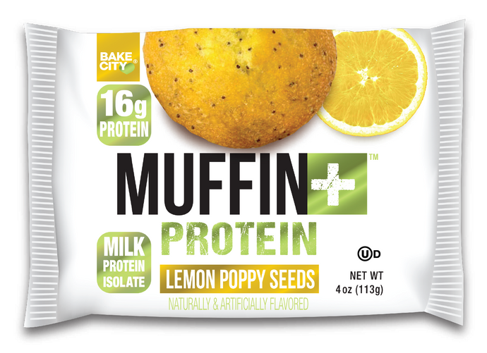 Muffin+ Lemon Poppy Seeds - Cookie+ Protein