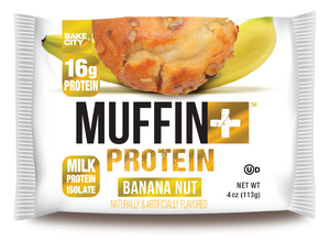 Muffin+ Protein Banana Nut - Cookie+ Protein