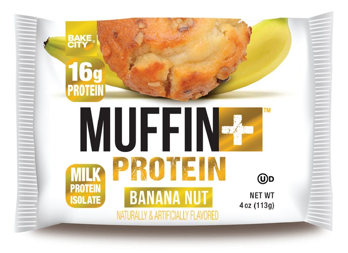 Muffin+ Banana Nut - Cookie+ Protein