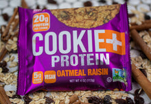 Load image into Gallery viewer, Cookie+ Protein Oatmeal Raisin - Cookie+ Protein
